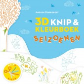 3D knip & Kleurboek seizoenen